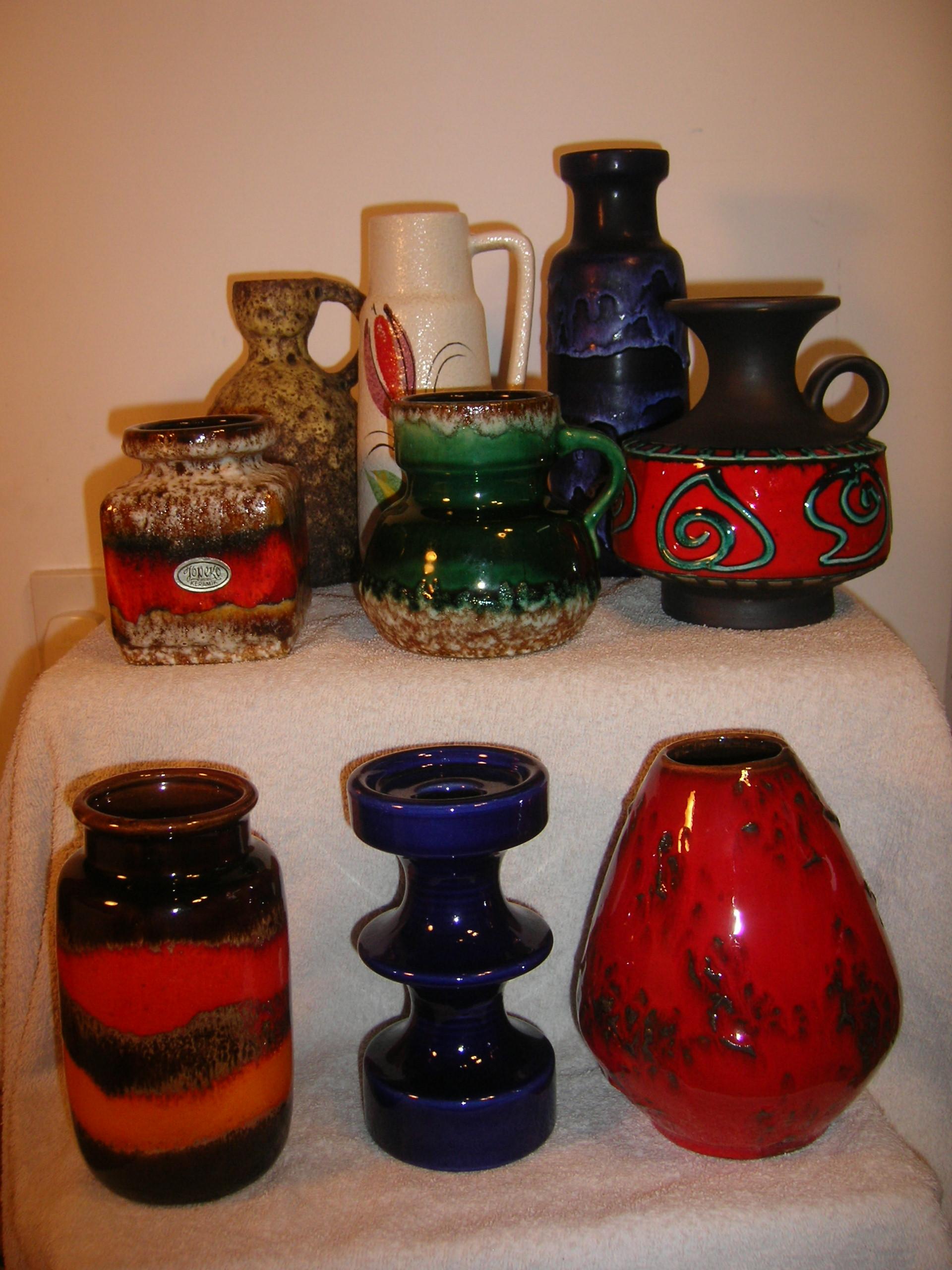 West German Pottery for Sale on Ebay Fat Lava Ceramics ...