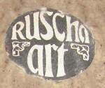 Ruscha Art Sticker