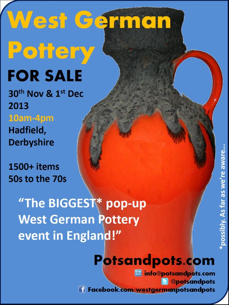 West German Pottery Sale