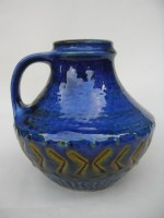Carstens 42-15 Blue Fat Lava Pottery