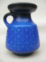 Carstens 6-15 Blue Fat Lava 1960s