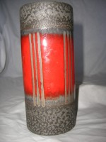 Carstens 683-18 West German Pottery Vase Ceramic