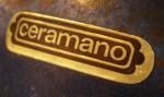 Ceramano Label - Gold Foil