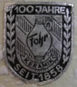 Fohr Label - 100 Years