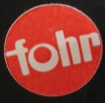Fohr Label - Red Circle