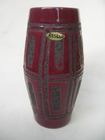Jasba 173-18 Red Black Fat Lava West German
