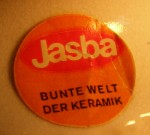 Jasba Label - Orange Circle