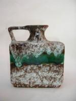 Jopeko 023-15 Fat Lava Green Vase