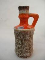 Jopeko 432-20 Orange Fat Lava West German Vase