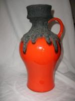 Roth 107-30 Orange Fat Lava Ceramic Glaze