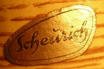Scheurich Label - Silver Foil 1954-1965