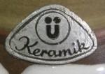 U Keramik - Silevr Foil Sticker 1960s-70s