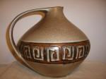 Ruscha 315 Vase 3 Fat Lava Ceramic Pottery
