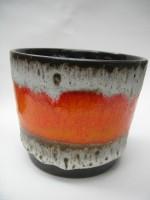 806-14 Plant Pot West German Pottery