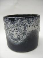 D & B Plant Pot West German Blue Pottery