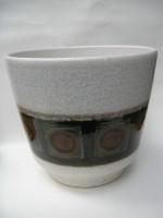 D & B Plant Pot West German Pottery
