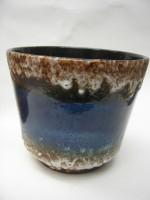 Jopeko Plant Pot West German Blue Pottery