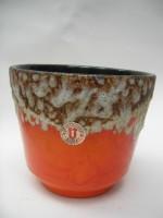 U Keramik Plant Pot West German
