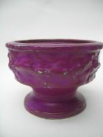 Vetter 85-10 Plant Pot West German Pottery Purple