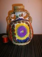 Fat Lava West German pottery Vase