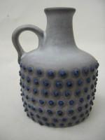Marei 4300 Blue Spots West German Handeled Vase